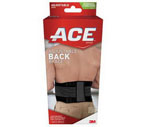 Ace Adjustable Moderate Stabilizing Back Brace One Size, 2CT