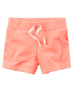 Neon French Terry Shorts