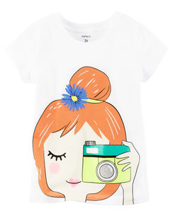 Camera Girl Graphic Tee