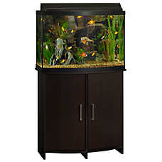 Top Fin® Bowfront Aquarium Stand