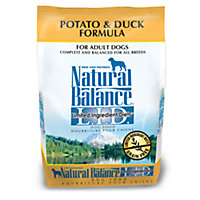 Natural Balance L.I.D. Grain-Free Potato & Duck Dog Food, 4.5 lbs.