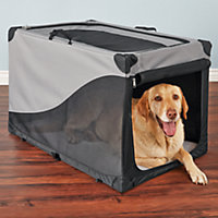 """You & Me Portable Canvas Crate, 36"""""""