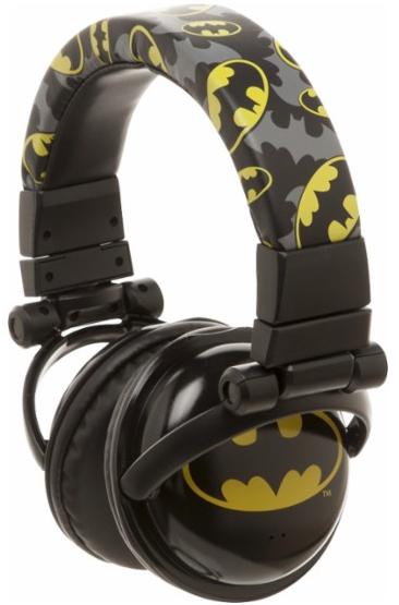 DC Comics - BATMAN Over-the-Ear Headphones - Black
