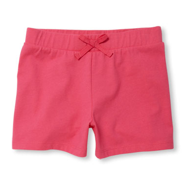 Girls Matchables Solid Shorts
