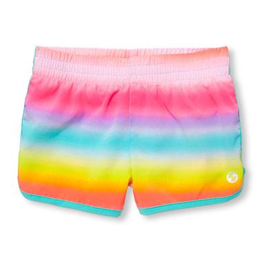 Girls PLACE Sport Print Dolphin Shorts
