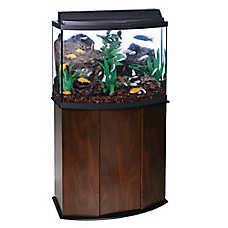 Aqueon® 36 Gallon Bow Front Aquarium Ensemble