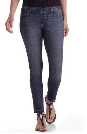 Faded Glory Women's Denim Jeggings available in Regular and Petite