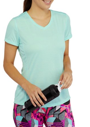 Danskin Now Women's Essential Performance Tee with Vents