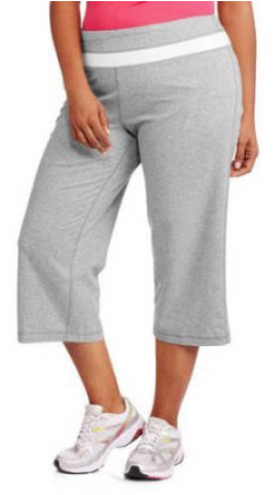 Danskin Now Women's Plus-Size Dri-More Capri Pants