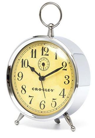 Crosley Finial Vintage Alarm Clock