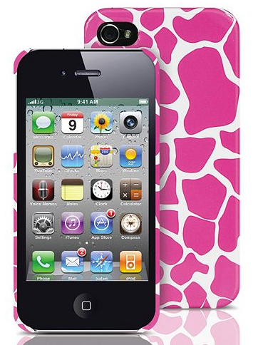 Merkury Innovations iPhone 4/4S Giraffe Hard Cell Phone Case