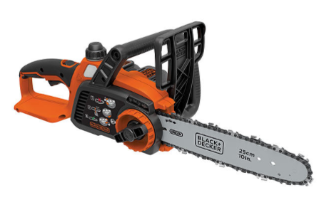 "BLACK+DECKER LCS1020 20V Max Lithium Ion 10"" Chainsaw"