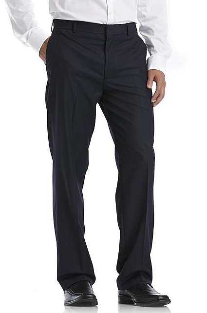 Arrow Men's Flat Front Suit Pants