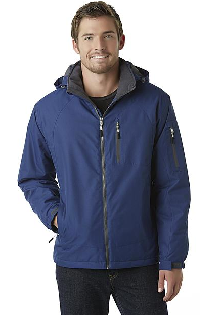 Outdoor Life Men's Hooded Jacket