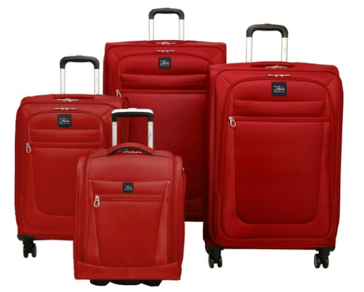 Skyway Langford Expandable Luggage Set with Underseat Bag (4-Piece)