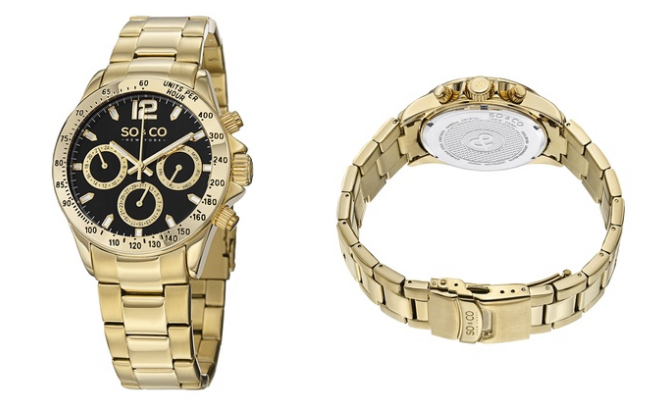 Clearance: SO & CO New York Men's Sport Watch