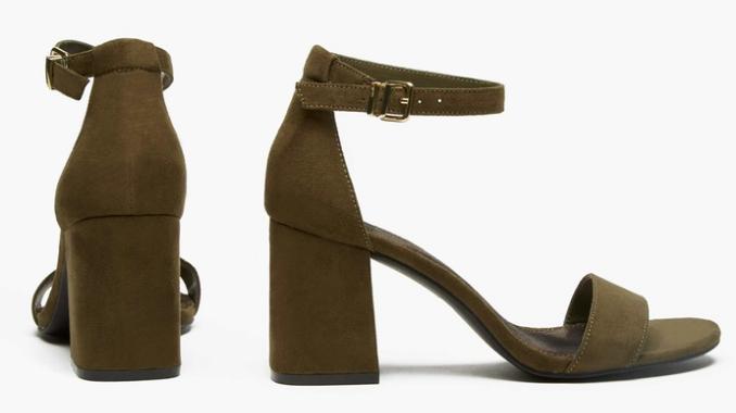 Sociology Women's Microsuede Block-Heel Sandal | Groupon Exclusive