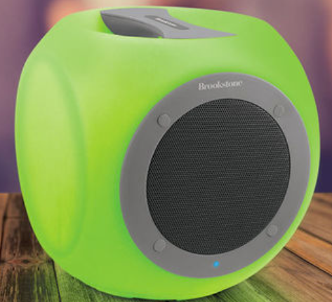 Eluma Cube Color-Changing Wireless Bluetooth Speaker