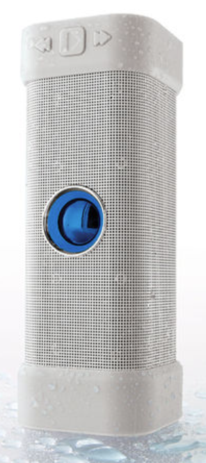 Big Blue Unplugged Wireless Indoor-Outdoor Bluetooth Speaker