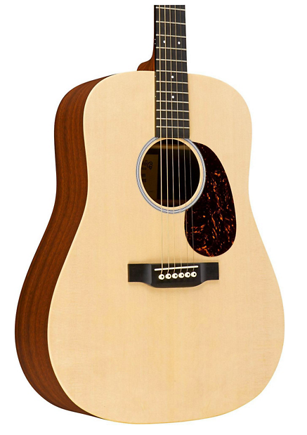 Martin X Series Custom DX1 Dreadnought Acoustic Guitar Natural