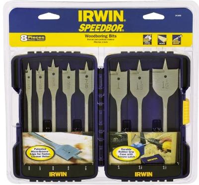 Irwin® 8 Piece Sppedbor Woodboring Bit Set (341008)