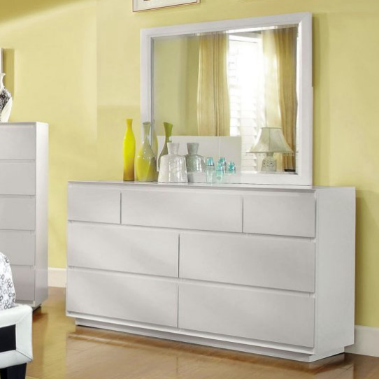 Furniture of America Avara Inspired 7 Drawer Dresser - White
