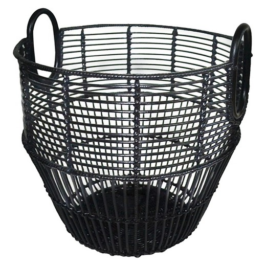 Rattan Basket - Black - Threshold™