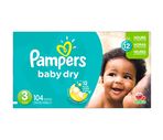 Pampers Baby Dry Super Pack Diapers