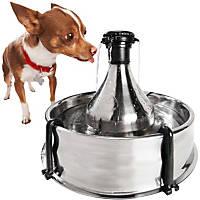 PetSafe Drinkwell 360 Multi-Pet Stainless Steel Fountain, 128 oz.