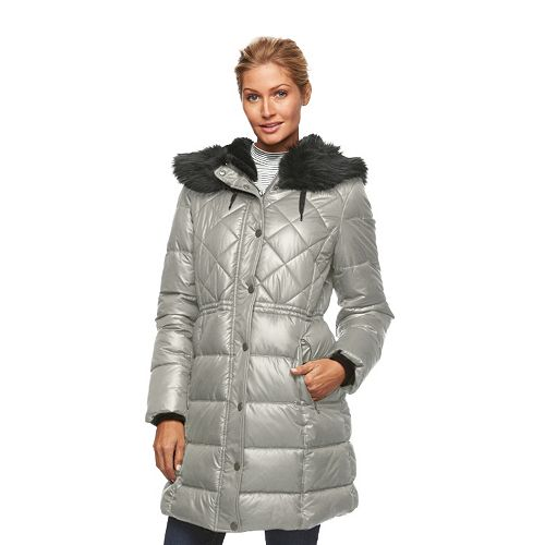 Women's Apt. 9® Hooded Anorak Puffer Jacket