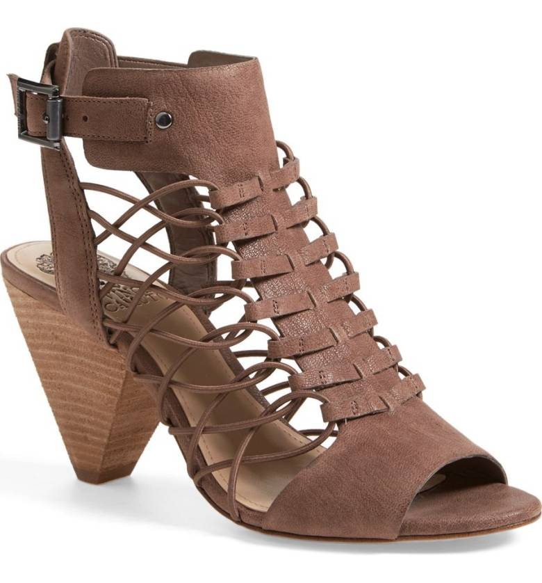 'Evel' Leather Sandal VINCE CAMUTO