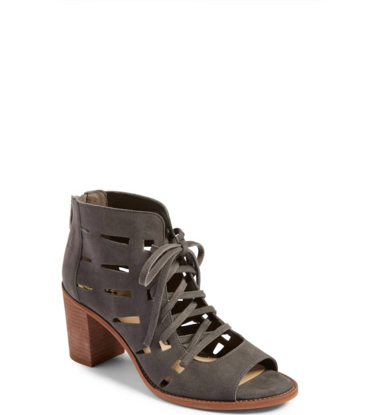 Tressa Perforated Lace-Up Sandal VINCE CAMUTO