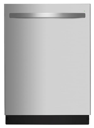 """Kenmore 14573 24"""" Top Control Built-In Dishwasher w / Removable Third Rack - Stainless Steel"""