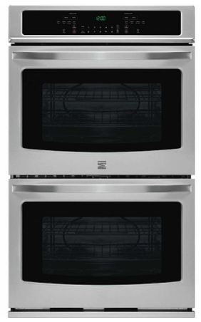 """Kenmore 49443 30"""" Double Electric Wall Oven w/Select Clean® - Stainless Steel"""