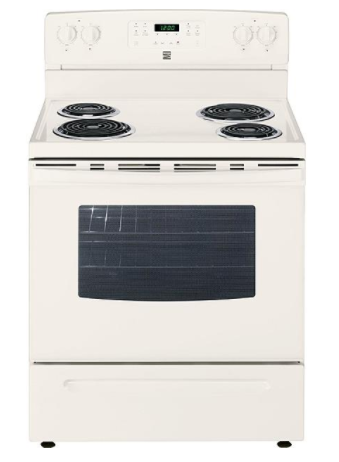 Kenmore 94144 5.3 cu. ft. Electric Range w/ Self-Cleaning Oven - Bisque
