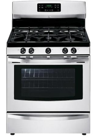 Kenmore 74133 5.0 cu. ft. Freestanding Gas Range w/Variable Self-Clean - Stainless Steel