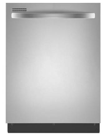 "Kenmore 12413 24"" Built-In Dishwasher w/ SmartWash® HE Cycle - Stainless Steel"