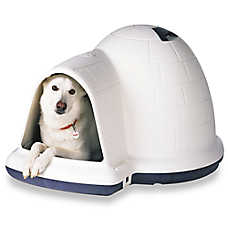 Petmate Indigo Igloo-Style Dog House