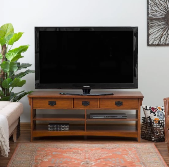 Belham Living Everett Mission TV Stand