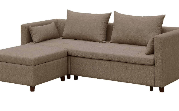 Cromwell Convertible Sofa with Ottoman Taupe - Threshold™