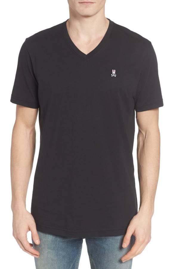 V-Neck T-Shirt PSYCHO BUNNY