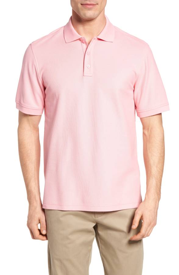 Solid Piqué Polo NORDSTROM MEN'S SHOP