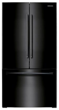 Samsung RF261BEAEBC 26 cu.ft. French Door Refrigerator w/ Internal Filtered Water Dispenser - Black