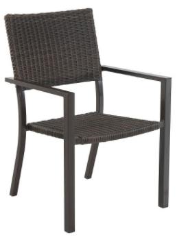 Belvedere 4-pk Wicker Patio Dining Chair - Frame Only - Threshold™