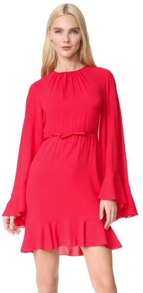 Giambattista Valli Cape Back Dress