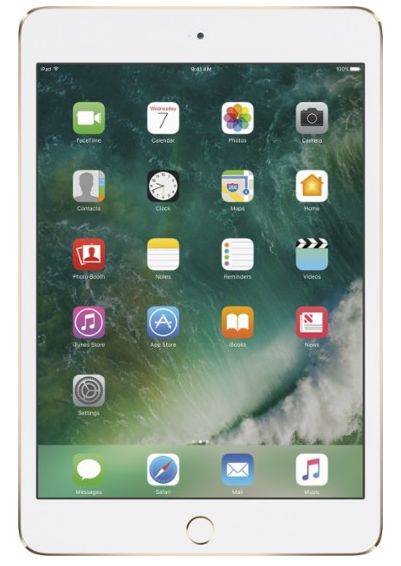 Apple - iPad mini 4 Wi-Fi 128GB - Gold