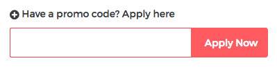 How to apply promo code at Way