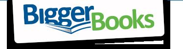 Bigger Books coupon codes