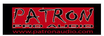 PATRON PRO AUDIO coupon codes