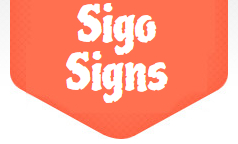 Sigo Signs coupon codes
